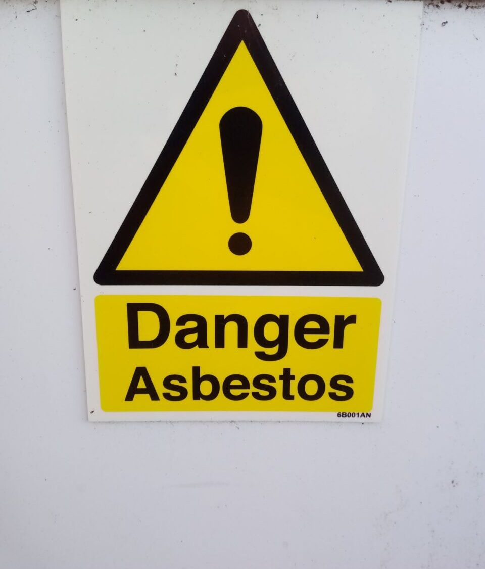 Asbestos in your home.